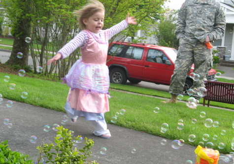 happiness is…a bubble machine