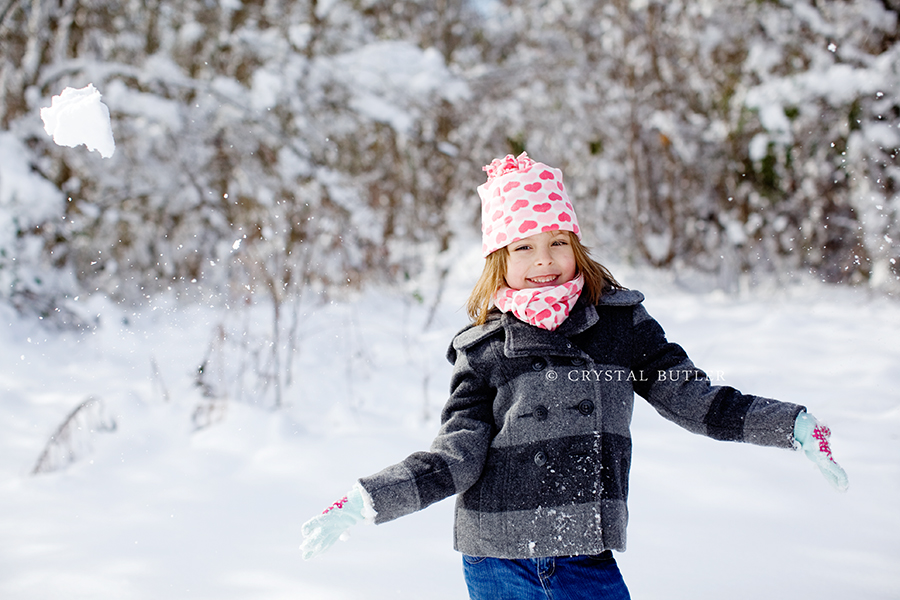 snow day! and cabin fever (Rocky Mount, NC, child photographer)