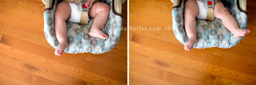 it's the little things (rocky mount, nc baby photographer)