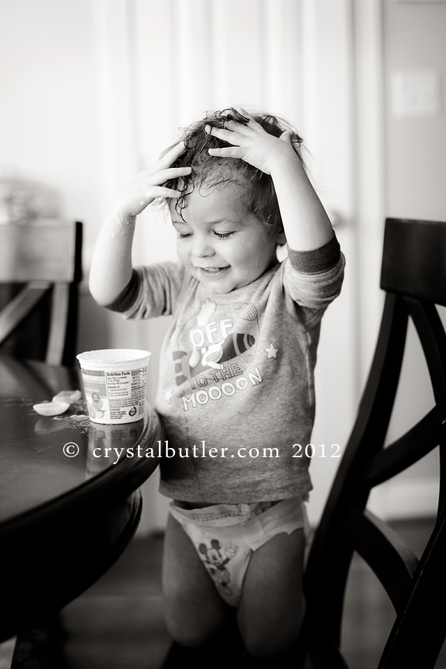 yogurt, according to him.  (rocky mount, nc photographer)