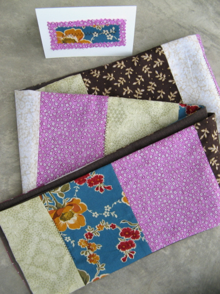 show your love – auction #2: patchwork scarf
