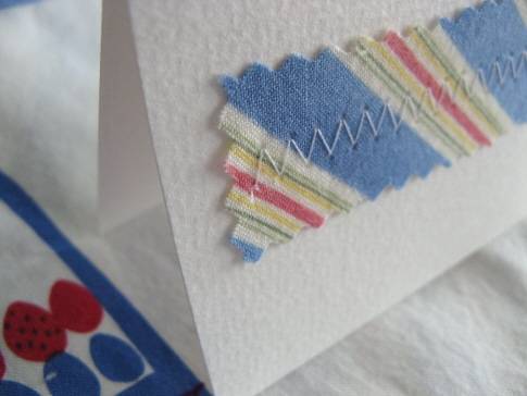 how to: easy handmade notecard