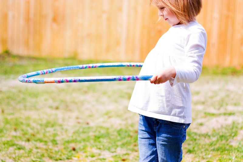evyn's guide to spring, part 2: hoops, flowers, and rocks