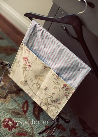 finally, a crafty thing: walker tote